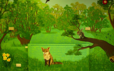 Foresters Primary School - 'Woodland scene'