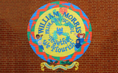 William Morris Primary School - 'Welcome sign'