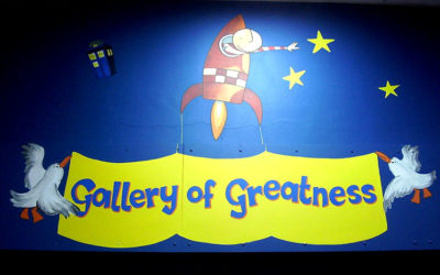 Beddington Park Primary School Entrance To The Gallery of Greatness
