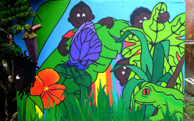 Jujurha Pre-School, 'Jungle mural'. 2015I